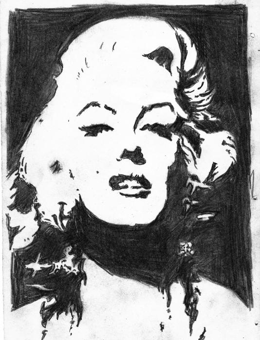 Marilyn Monroe by anka